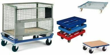 Fahrgestelle und Rollplatten