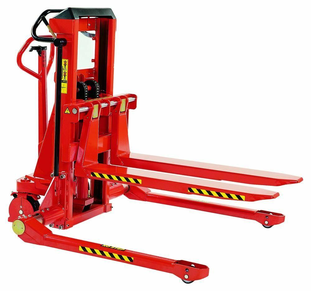 Stapler mit Breitspurfahrwerk; Tragkraft: 1.000 kg, Gabellänge: 1.150 mm
