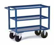 Tischwagen mit Blechwanne