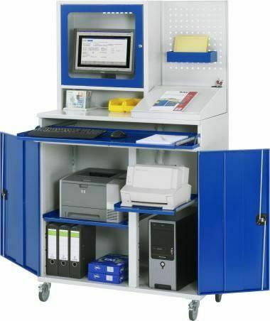 Computer-Schrank mit Monitorgehäuse