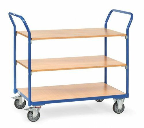 Tisch- und Etagenwagen im Baukasten-System