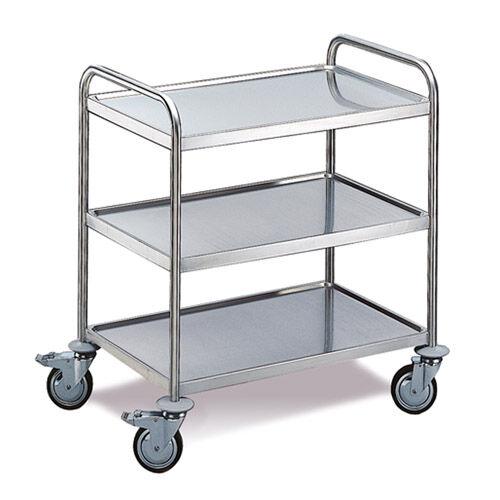 Edelstahl-Tischwagen