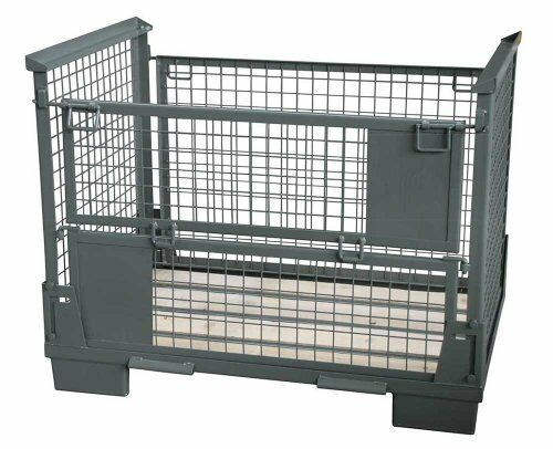 Faltbare Gitterboxen 800 x 1200 Nutzhöhe 750 mm