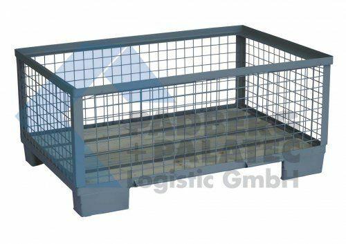Halbhohe Gitterbox ohne Klappe