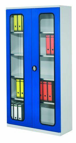Systemschrank RAL 7035  | Sichtfenster  | 4  | 500 mm