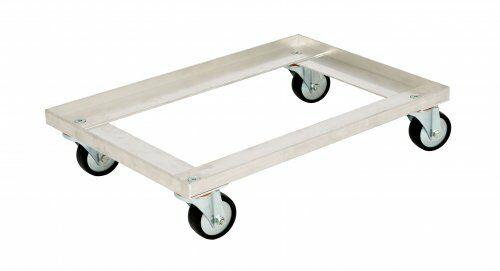 Transportroller 618 x 420 mm, aus Aluminium