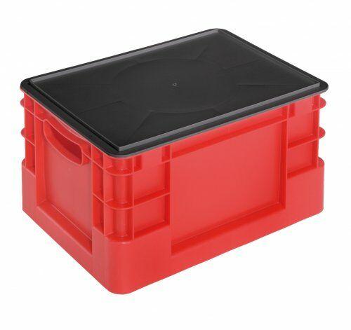 Deckel (schwarz) für Euro-Transportbehälter