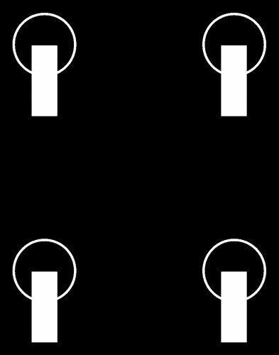 4 Lenkrollen anstatt 2 Lenk- und 2 Bockrollen