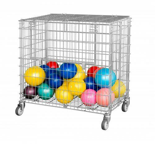 Ballwagen, abschließbar