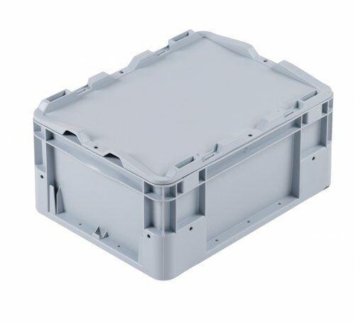 Deckel (grau) für Euro-Transportbehälter
