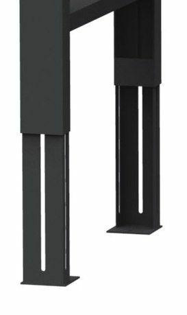 Fußgestell höhenverstellbar
