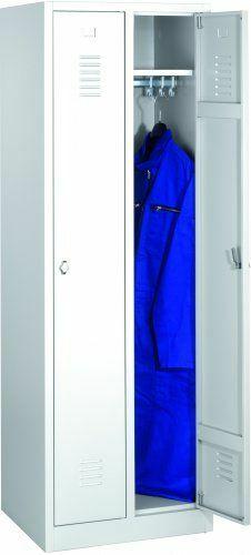 Garderobenschränke mit Sockel │4 Abteile
