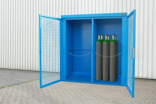 Zubehör zum lackierten Gasflaschen-Container
