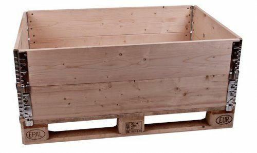 Holzaufsatzrahmen diagonal faltbar
