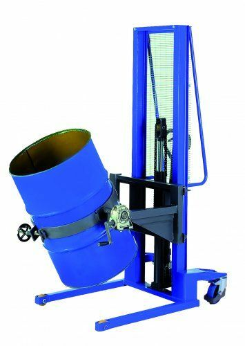Hydraulik-Stapler manuell für Fässer