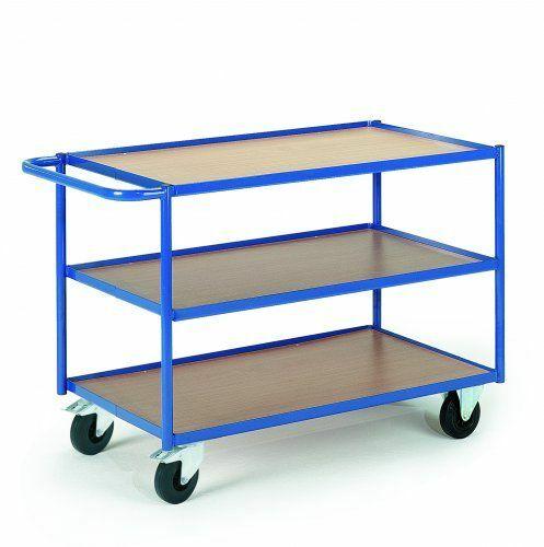 Tischwagen mit Eisenrand
