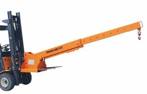 Lastarm (teleskopierbar) 1000 kg | RAL 5012