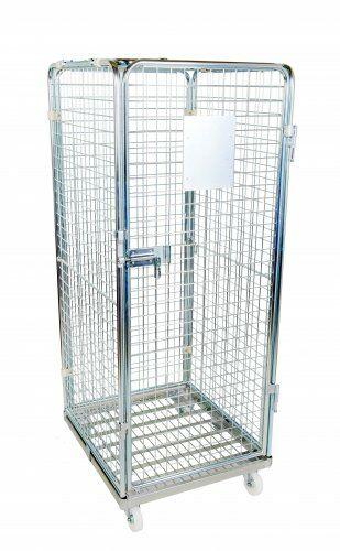 Antidiebstahlbehälter 710 x 800 mm Nutzhöhe 1400 mm