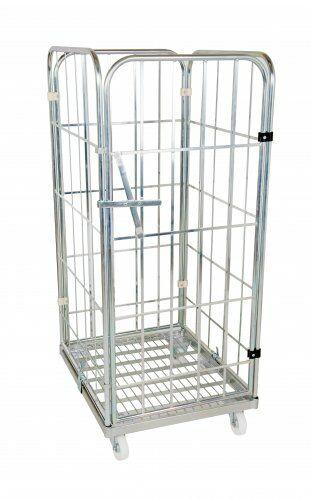Metall-Rollbehälter 710 x 800 mm