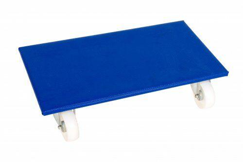 Möbelroller 600 x 300 mm, mit Polypropylenrollen