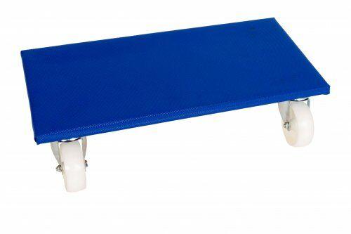Möbelroller 600 x 350 mm, mit Polypropylenrollen