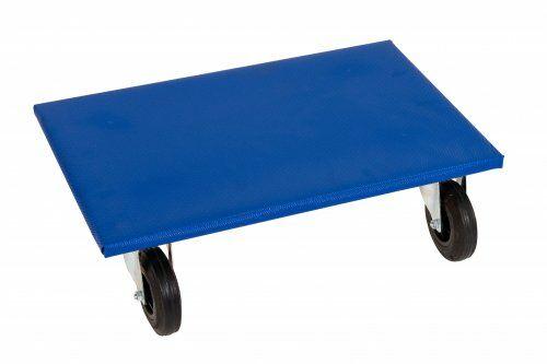 Möbelroller 600 x 400 mm, mit Vollgummirollen