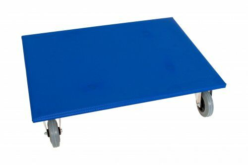 Möbelroller 800 x 600 mm, mit Vollgummirollen
