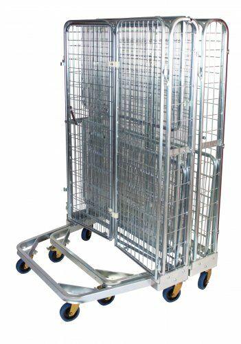 Nestbarer Antidiebstahlbehälter 1200 x 800 mm