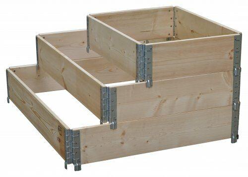 Holzaufsatzrahmen für Chemiepaletten