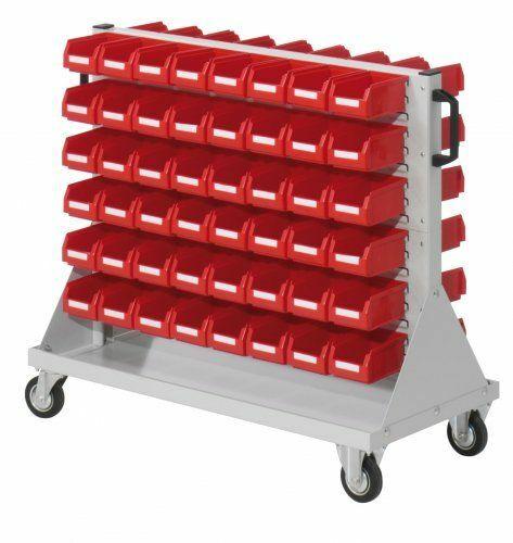 Rollwagen für/mit Lagersichtkästen