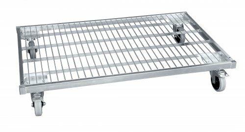 Stahlrollplatte in Europaletten-Abmessung 800 x 1.200 mm