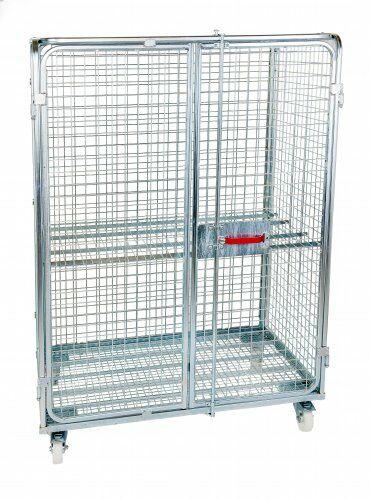 Stahlrollbehälter Antidiebstahl 1200 x 800 mm