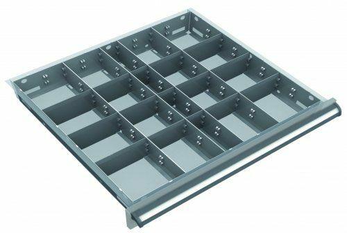 Metalleinteilung 75 mm | 500 x 450 mm
