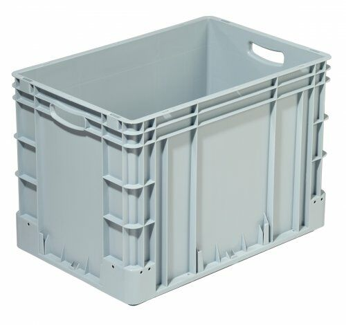 Euro-Transportbehälter 600x400 mm hoch grau  | 420 mm