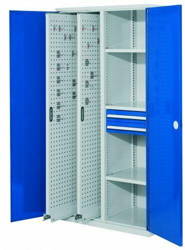 Vertikalschrank RAL 5010  | 2 x H100mm  | 3  | 2
