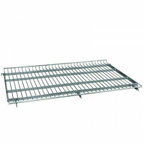 Zwischenboden mit 20 mm Aufkantung für Stahlrollbehälter 800 x 1200 mm, schräg einhängbar im Behälter
