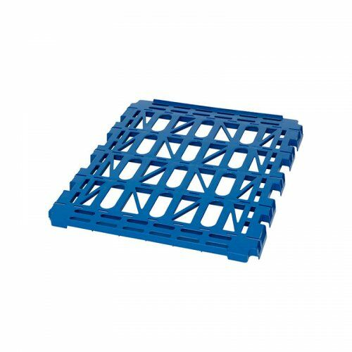 Kunststoffzwischenboden für Rollbehälter 682 x 815 mm mit 2 Seitengitter