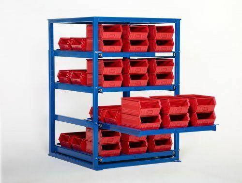 schwerlastregal mit 2 3 auzug online kaufen padberg palatec shop. Black Bedroom Furniture Sets. Home Design Ideas