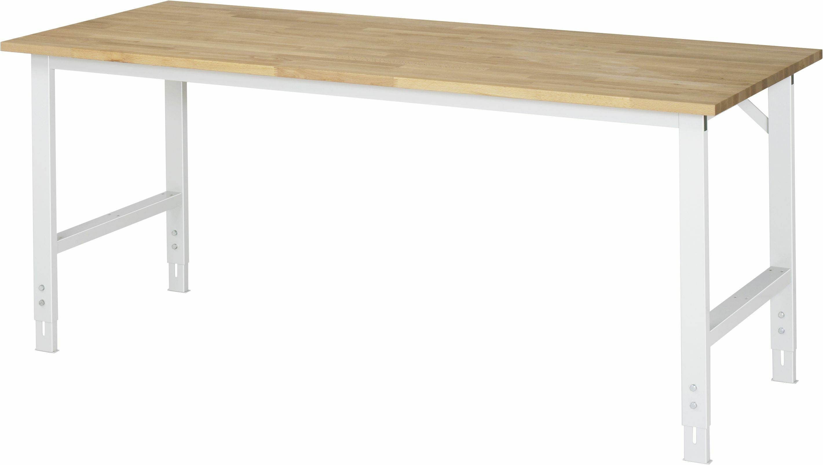 arbeitstisch buche massiv 2000 x 800 mm online kaufen padberg palatec shop. Black Bedroom Furniture Sets. Home Design Ideas